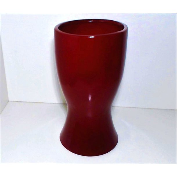 Retro Design Rød Vase H:20